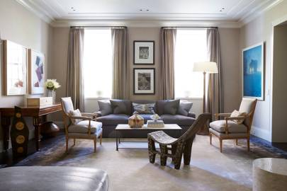 Formal Living Space - Modern Park Avenue Apartment