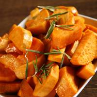 1 Medium Sweet Potato = 100 Kcals