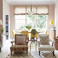 Rita Konig's London flat - Sitting Area | Style File