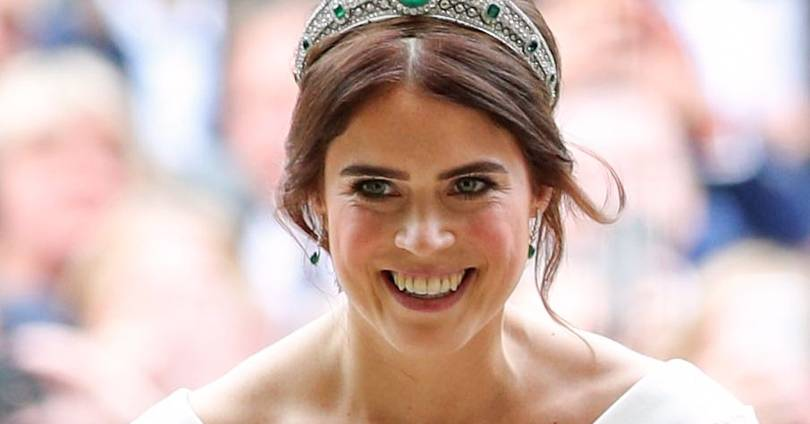 The history behind Princess Eugenie's emerald and diamond wedding day tiara