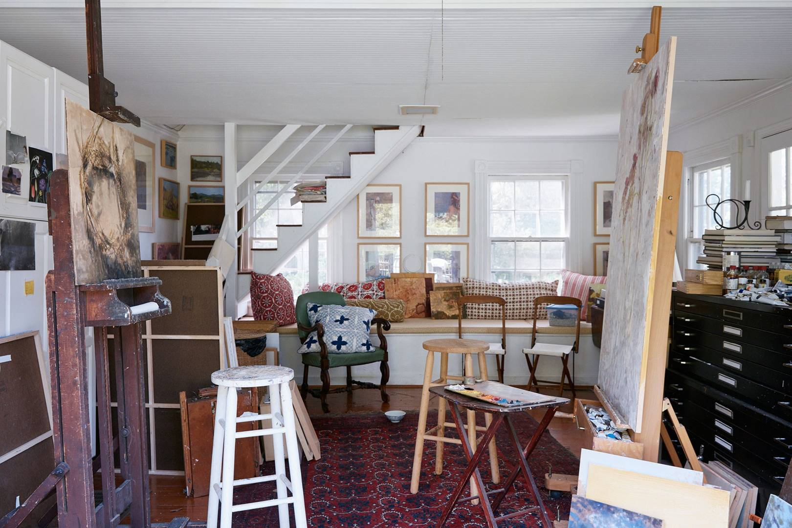 Artists houses interiors house garden