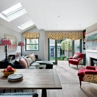 Open Plan Living Area - Nicole Salvesen London Family Home