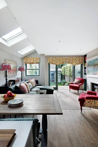 Open Plan Living Area - Nicole Salvesen London Family Home