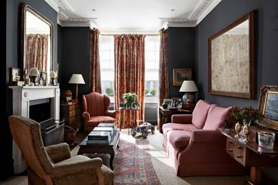 Living Room - Traditional Victorian Town House