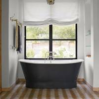 Free Standing Bath on Tiled Floor