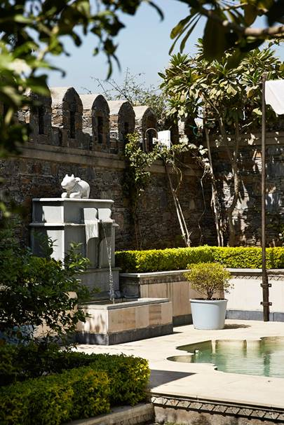 Indian Courtyard Water Feature