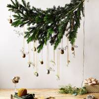 Hanging Bough for Christmas