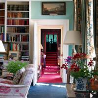 Living Room Bookcase - Holker Hall