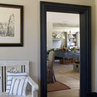 Paint your architraves and skirting boards