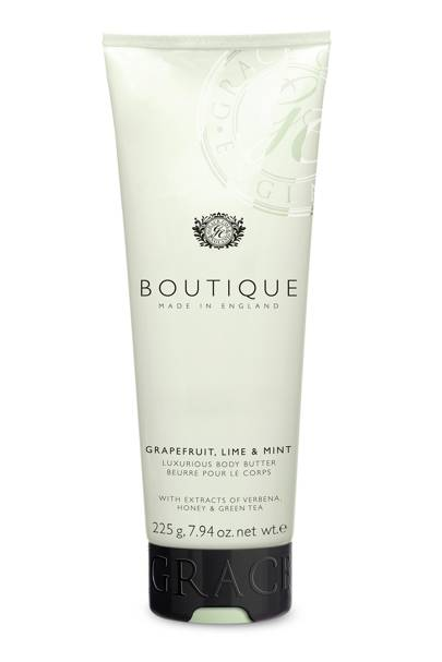 August 21: Boutique Grapefruit, Lime & Mint Body Butter, £6
