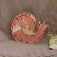 Ceramic Prawn, £90