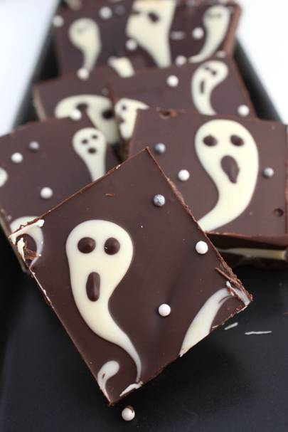Spooky Chocolate Bars