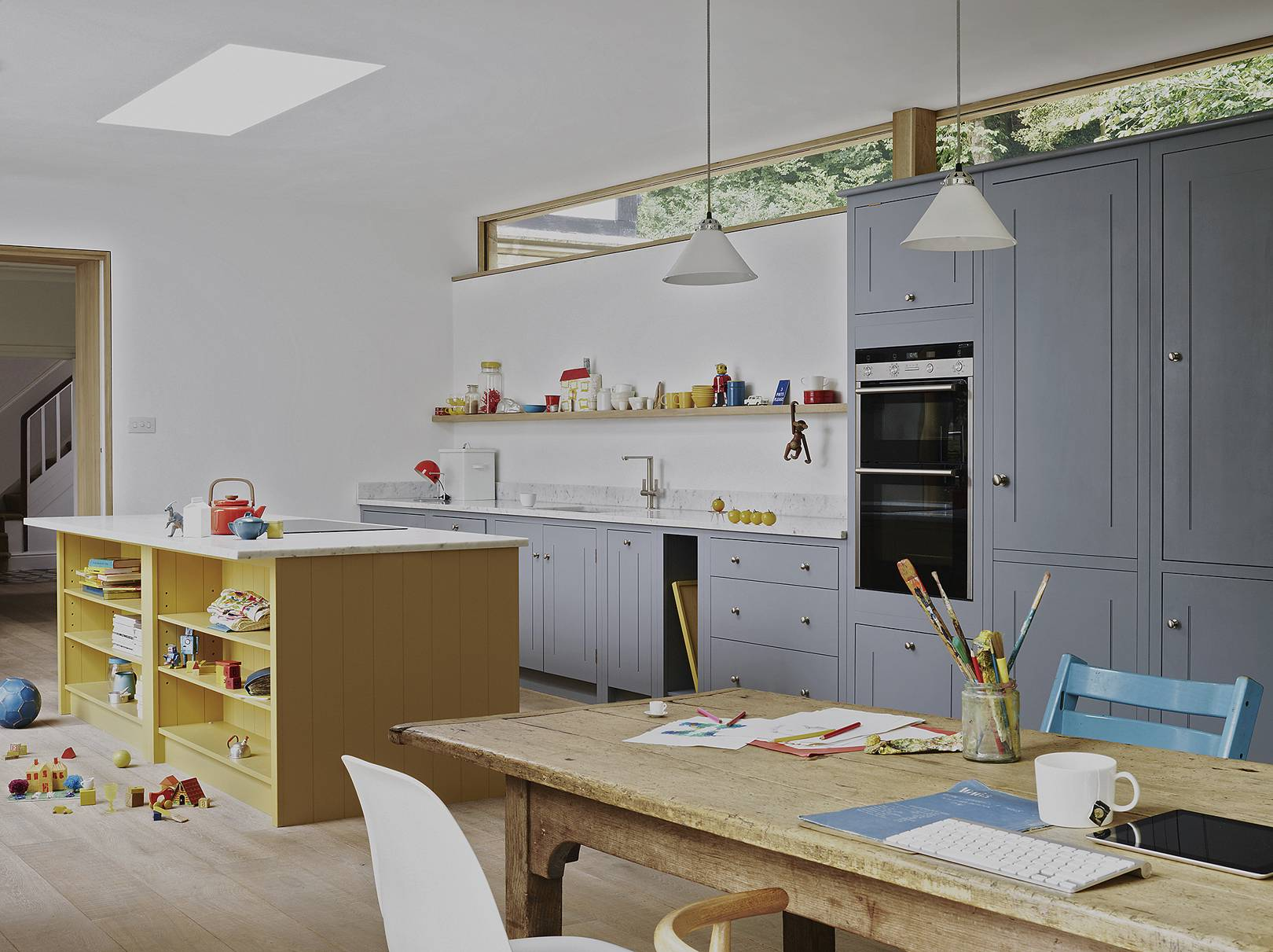How To Choose The Right Colour For Your Kitchen House Garden
