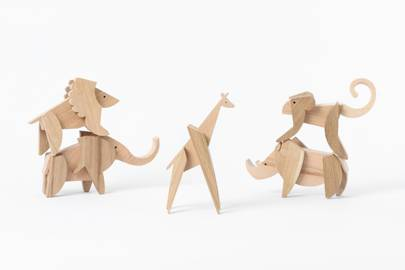 Sarah and Bendrix Wooden Toy Set