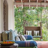 A European and Indian Inspired Veranda in Goa, page 97
