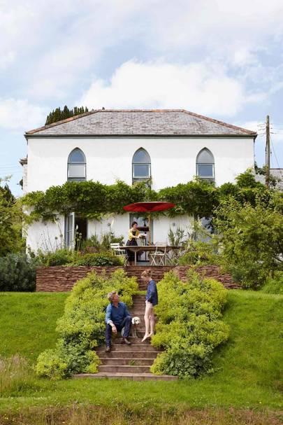 House Rear - Somerset Chapel Conversion