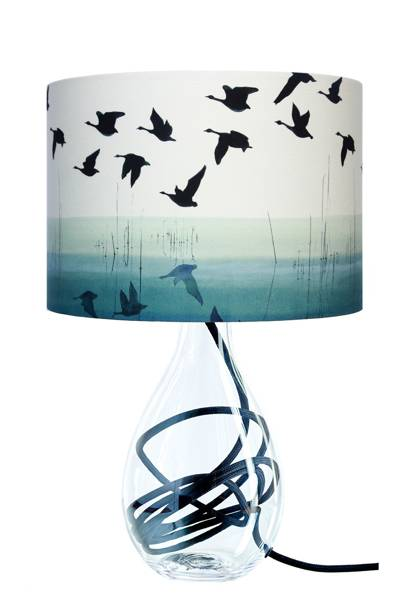 Welsh Reflection Lamp by Anna Jacobs