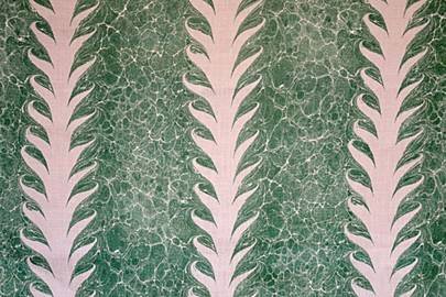 'Palm Drop' by Beata Heuman Fabric