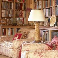 Antique Oak Bookshelves