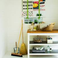 Make Tea Towel Blinds