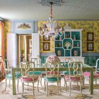 Dining Room -  Madcap Cottage Bright Pattern House