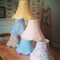Lampshade making with The Makery