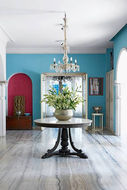 Entrance Hall - Colours of India