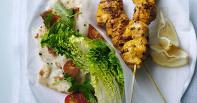 Indian Tikka Lamb Kebabs Recipe Ideas Healthy Amp Easy