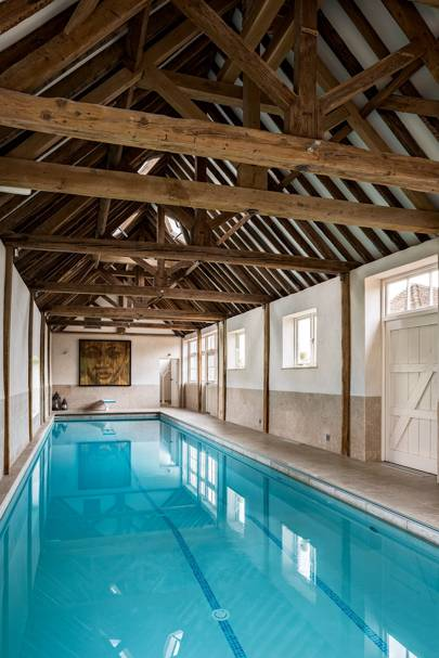 Swimming Pool - Traditional Hampshire Country House