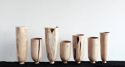 Birch Standing Vessels by Forest + Found