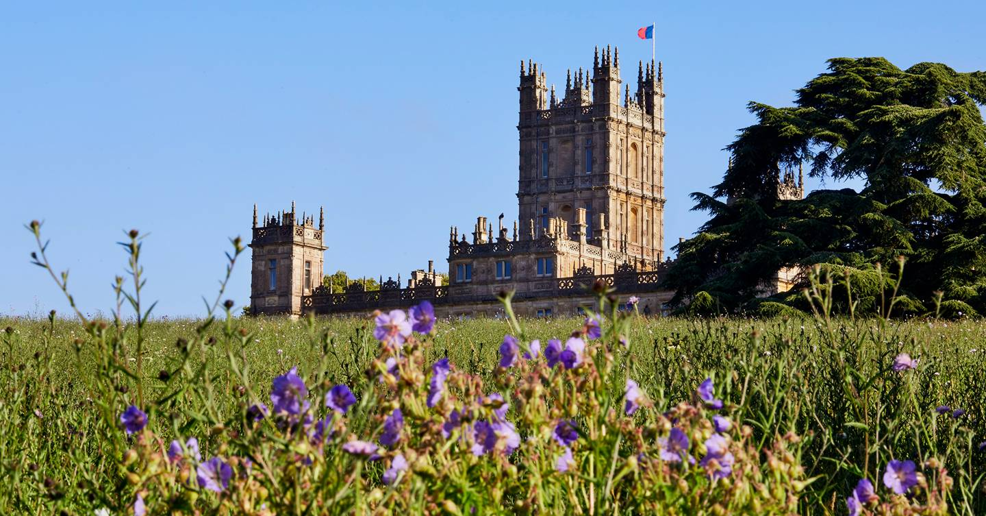 An exclusive tour of the gardens at Highclere Castle