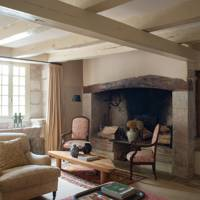 Living Room Sitting Area - French Farmhouse