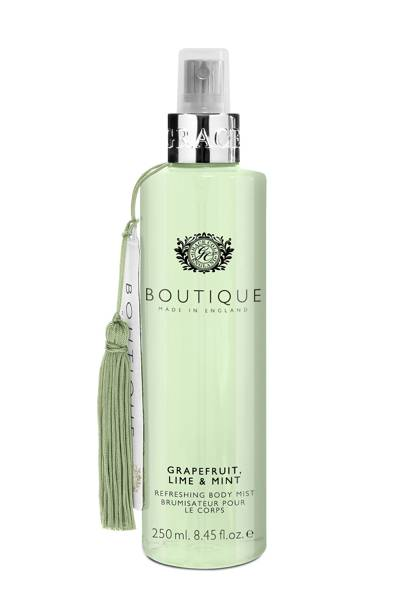 August 27: Boutique Grapefruit, Lime & Mint Body Mist, £6