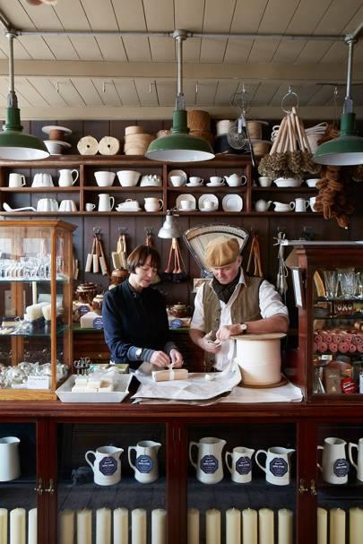 Shop Counter - Tudor House