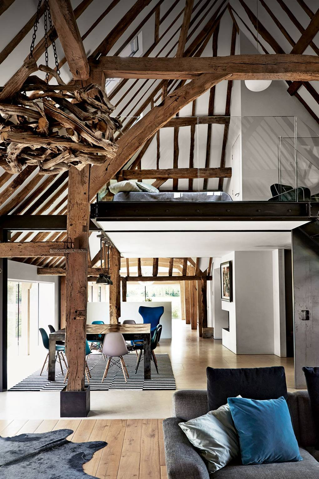 Mezzanine Floor - Mezzanine Level Design | House & Garden
