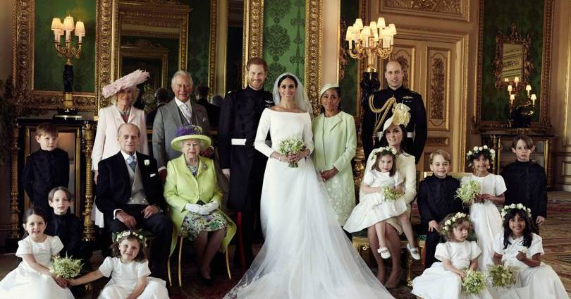 The history behind the room where the royal wedding portraits were shot