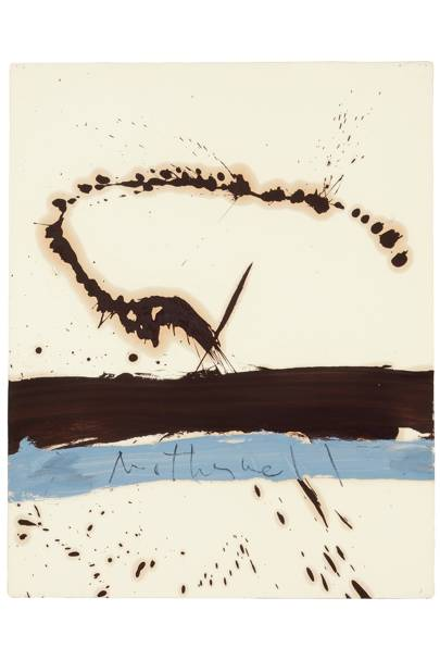 Robert Motherwell: Abstract Impressionism