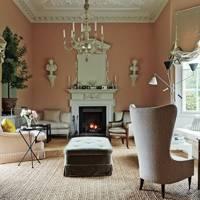 Elegant English sitting room