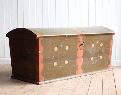 Swedish Marriage Chest, £540
