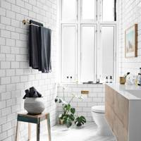 Bathroom - Scandinavian Home of Pernille Teisbaek