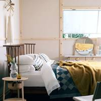 Scandinavian-inspired bedroom