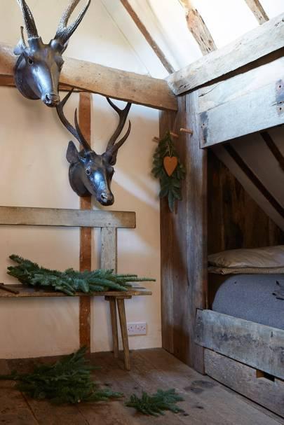Attic Deer Decoration - Tudor House