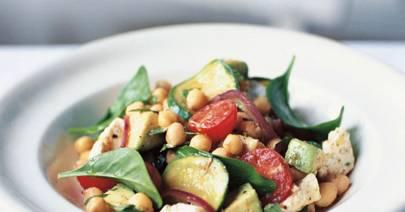 Tomato & Chickpea Salad