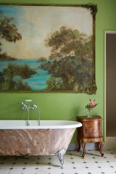 Domaine de la Baume: Bathroom