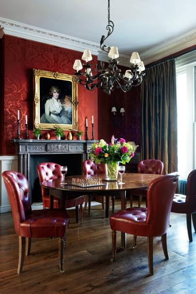 Dining Room - English Garden Square House