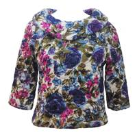 Amazing 50s Quilted Vintage Top