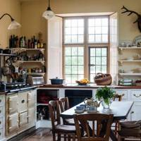 Country House Kitchen with Aga