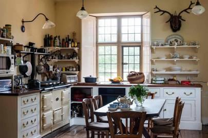Kitchen - Newbuild Jacobean-style Manor