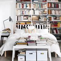 Artfully Disheveled Bookcase