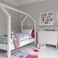 House-Shaped Bed Frame